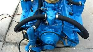 5 7 270hp crusader counter rotation engine test run