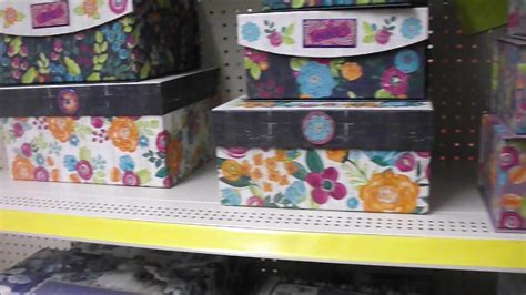 decorative boxes at dollar general new decorative storage boxes at dollar general youtube