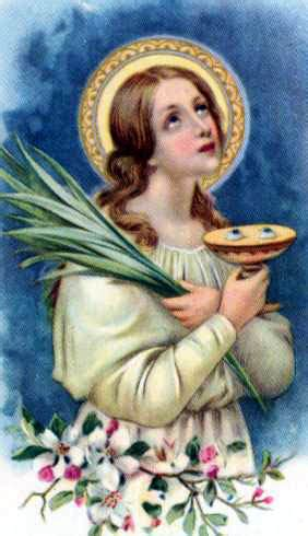 S Lucia Calendario Luc 237 A De Siracusa M 193 Rtires Y Santos