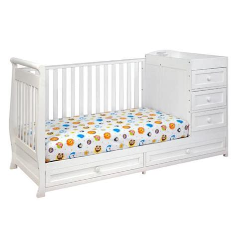 Convertible Crib And Changer Combo Afg I 2 In 1 Convertible Crib And Changer Combo 662 Nurzery