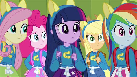 the color of friendship cast imagem twilight and friends wearing pony ears eg png