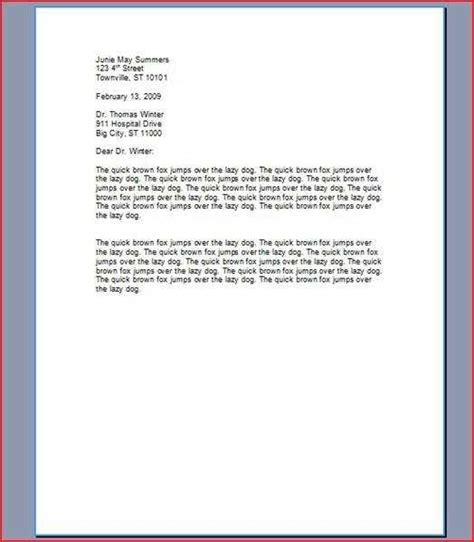 How To Type A Cover Letter For A Application how to type a cover letter for a resume ehow