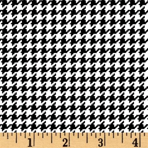 black and white alabama pattern michael miller tiny houndstooth black discount designer