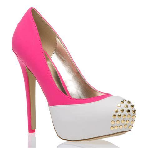 heels pink pretty shoes stilettos image 436804 on
