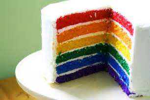 color cake sweet and delish rainbow cake colors photo 34691733