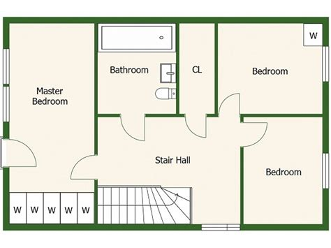 Bedroom Floorplan by Floor Plans Roomsketcher