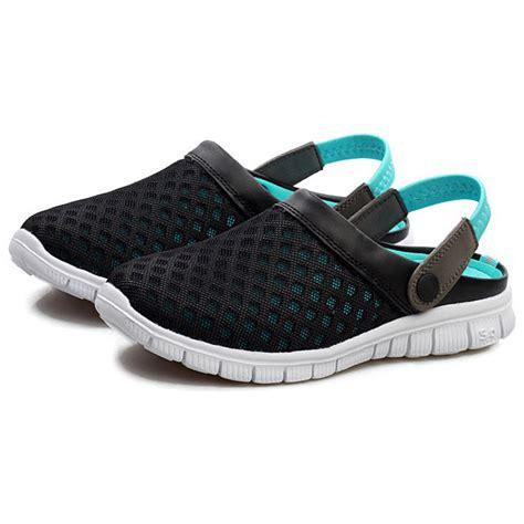 Sepatu Santai sepatu sandal slip on santai pria size 42 blue
