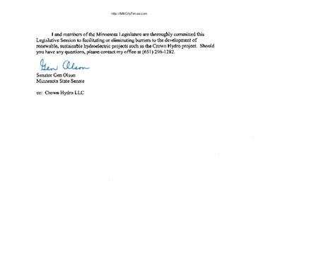 Response Cancellation Letter crown hydro response to ferc termination letter