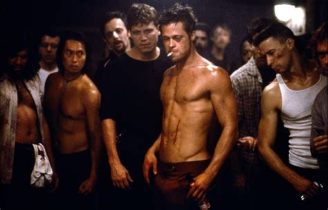 fight club brad pitt fight club train body and mind