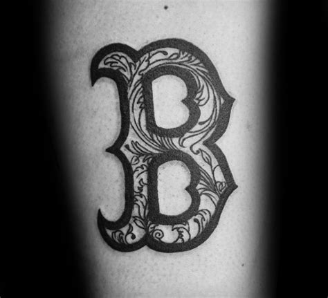 boston b tattoo 67 wonderful boston sox tattoos designs collections