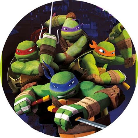 Teenage mutant ninja turtles cake image this party started
