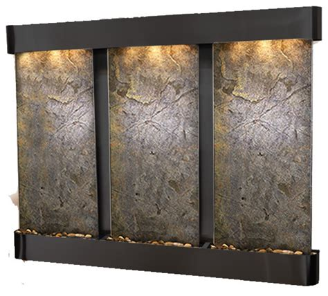 modern wall fountains the creek falls customizable wall water features