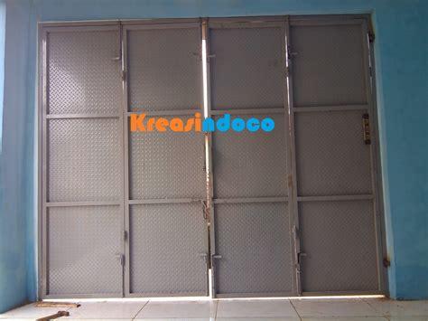 desain pintu gudang keren 20 gambar pintu besi plat 21rest com 21rest com