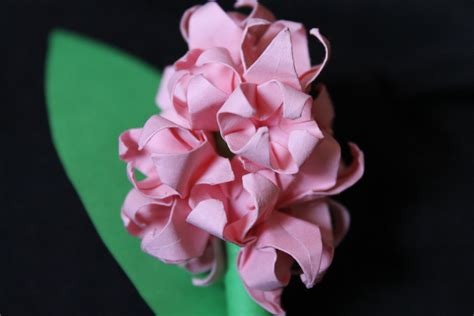 Origami Hyacinth - origami hyacinth by seqbre on deviantart