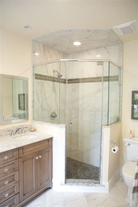 bathroom wall options neo angle shower lagenwalter master bath pinterest