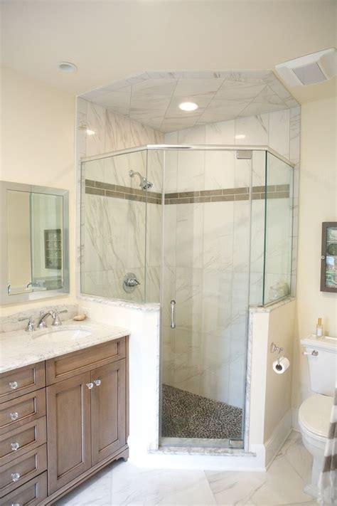 guest bathrooms google search 3305 bb pinterest neo angle shower lagenwalter master bath pinterest