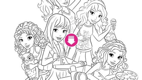 coloring pages lego friends lego friends coloring page lego friends