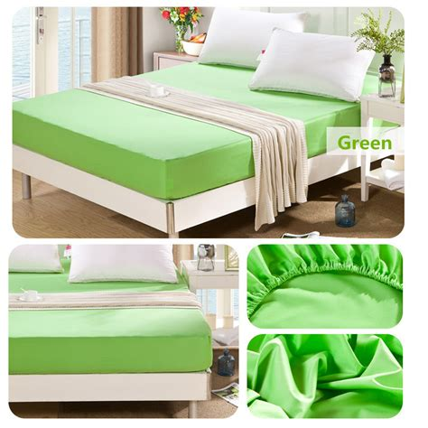 Bed Sheet Bed Cover 180 X 200 X 222 flat fitted sheet set cotton solid color bed cover