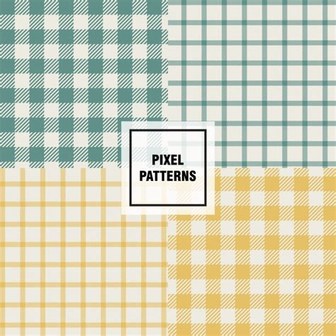 pattern collection download pixel patterns collection vector free download