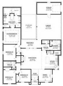 4 Bedroom Open Floor Plan 653649 Features 4 Bedroom With Open Floor Plan That