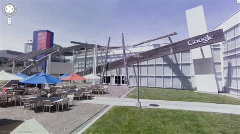 Google Dublin Office google releases street view for its mountain view hq the