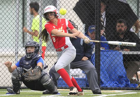 section vi softball williamsville east and olean get what they want in