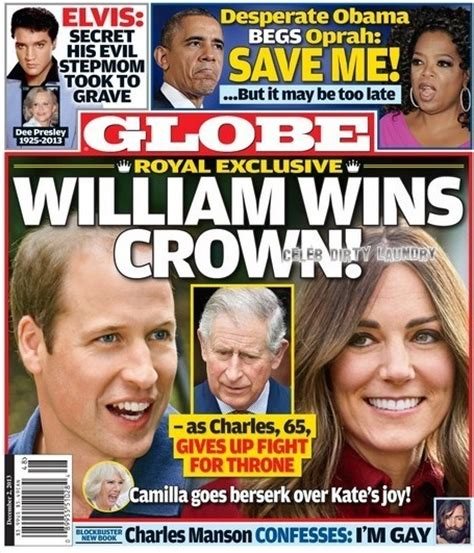 prince william a few facts the your interest globe prince william wins the crown as prince charles