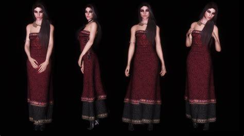 skyrim cbbe dress triss dress unp cbbe at skyrim nexus mods and community
