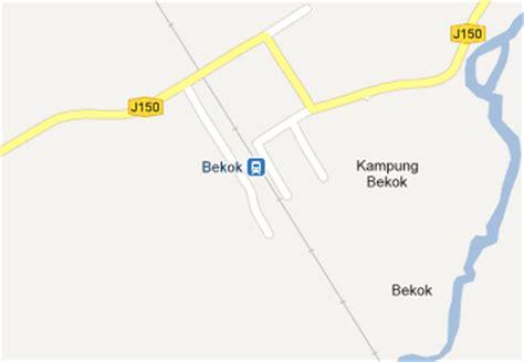 Ktm Intercity Map Bekok Railway Station Mrt My