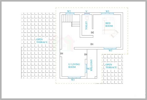 kerala floor plans kerala house plans for a 1600 sq ft 3bhk house