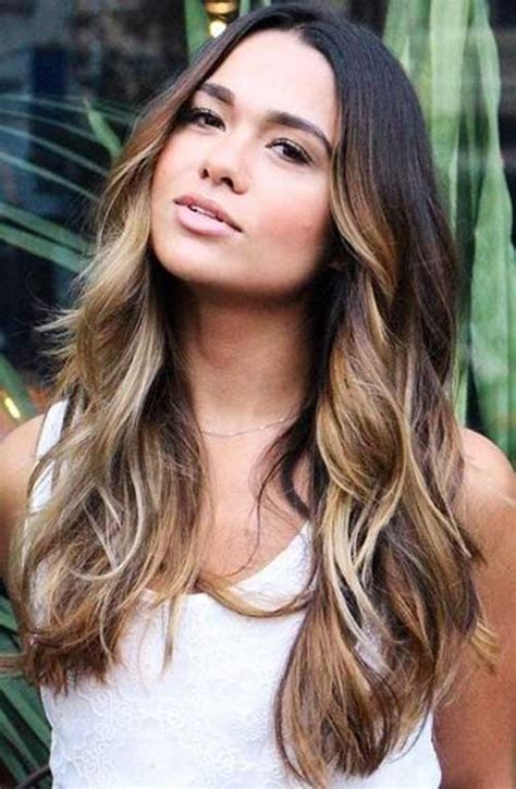 does hair look like ombre when highlights growing out hairstyles for long hair balayage