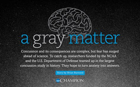 grey matter technology a gray matter an ncaa chion feature ncaa org