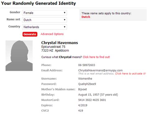 generate a random name fake name generator 7 websites you didn t know existed