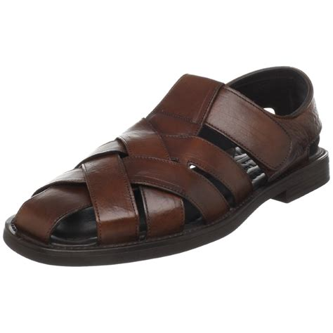 mens fisherman sandals sale to boot new york mens coronado fisherman sandal in brown