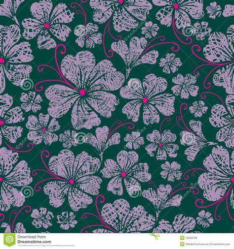 seamless pattern grunge seamless vintage grunge floral pattern royalty free stock