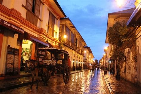 A Walk Through Ancient Times Calle Crisologo In Vigan