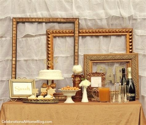 Ideas For Home Decorating On A Budget by Gold Party Decor Ideas For Milestone Celebrations