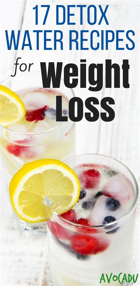 Detox Course by 17 Detox Water Recipes For Weight Loss Infused Waters
