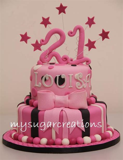 Local Cake Decorating Classes My Sugar Creations 001943746 M 21st Birthday Cake Louisa