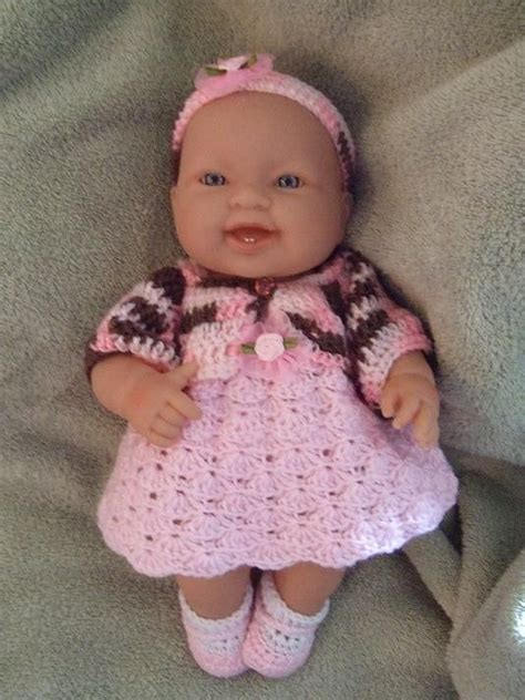 free knitting patterns for 14 inch doll clothes crochet pattern for 14 to 15 inch berenguer baby by