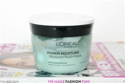 Loreal Hair Mask obsessed l or 233 al moisture mask a sparkle factor