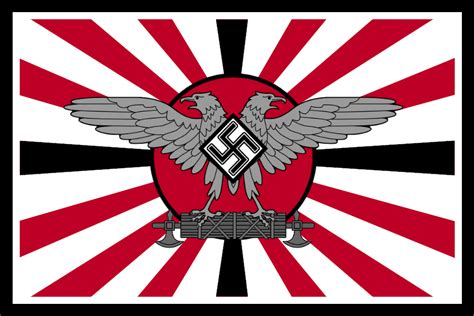 Teh Asix the axis of triggering flag by columbiansfr on deviantart