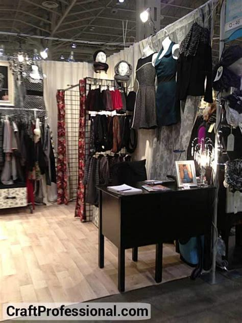Magic Scraft By Kayana Fashion gridwall display booth photos