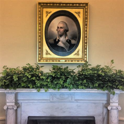 oval office paintings portrait over mantle in the recreated oval office the ge