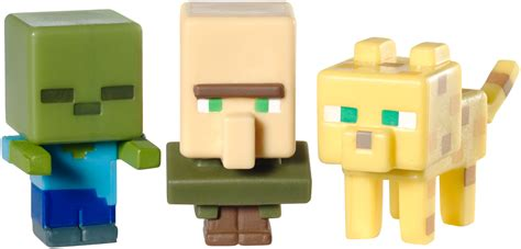 Mini Figure 1 minecraft mini figures 3 pack