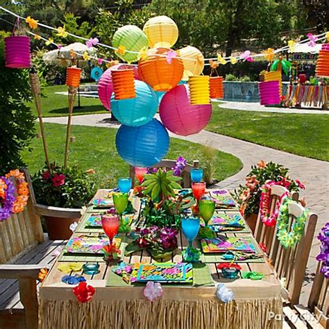 backyard luau party ideas fun hawaiian luau party ideas for kids