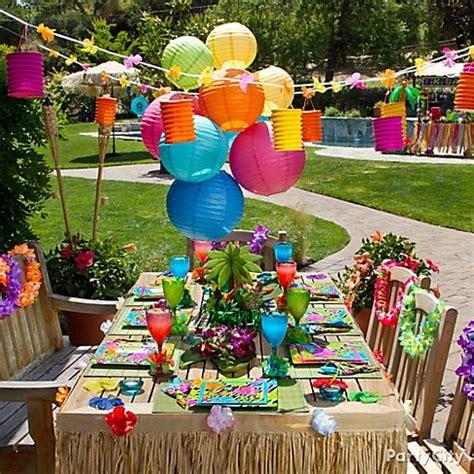 luau backyard party ideas fun hawaiian luau party ideas for kids
