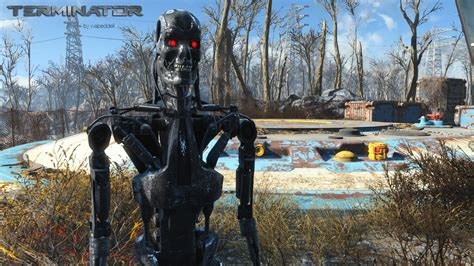 fallout 4 loverslab fallout 4 terminator models textures loverslab