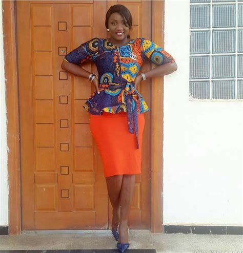 ankara same design in different colours plain and patterned ankara styles you need to rock now