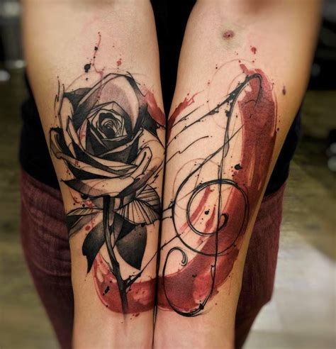 energetic ink drawings as tattoos by felipe rodrigues